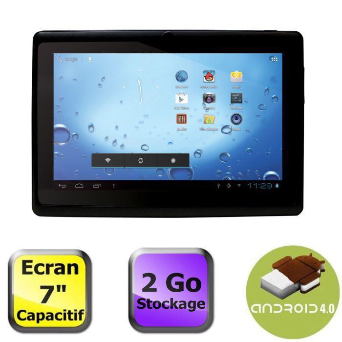 "Tablette 7"" Capacitive Processeur Cortex A8"