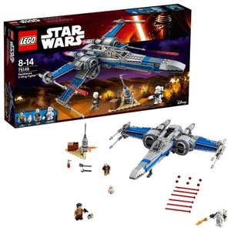 Lego Star Wars 75149 X-Wing Fighter De La Résistance