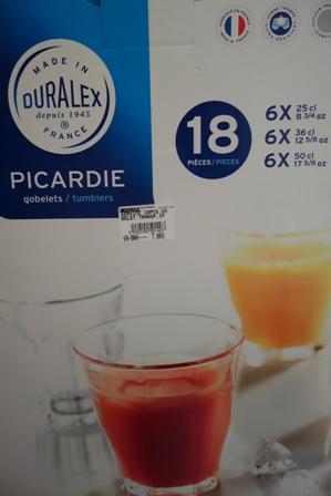 Sélection de coffrets Duralex en promotion - Ex : lot de 18 verres Picardie
