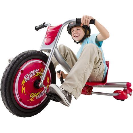 Véhicule de conduite Razor Flashrider 360° pour Enfants - Rouge