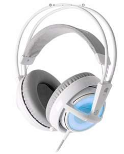Sélection d'articles Steelseries en promotion - Ex : Casque Gaming SteelSeries Siberia V2 - Blanc et Bleu