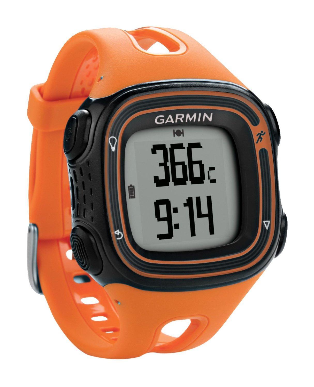 Montre GPS Garmin Forerunner 10 - Orange/Violet