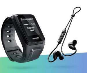 Pack Montre TomTom Spark Cardio + Casque Bluetooth TomTom Sports