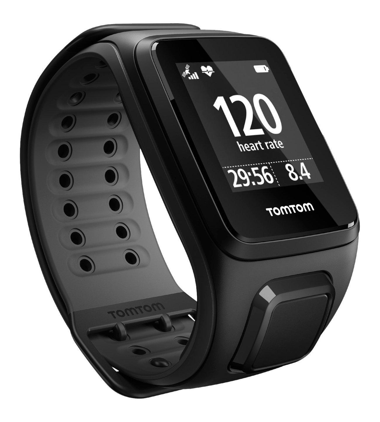 Montre GPS TomTom Runner 2 Cardio - Bracelet Large (plusieurs couleurs)