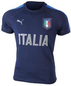 Tshirts de football Puma Italie 2016 Casual Performance