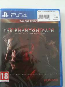 Jeu Metal gear solid V : The phantom pain sur PS4 - edition day one