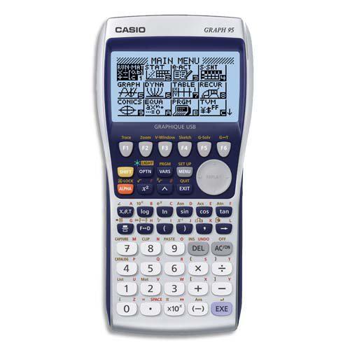 Calculatrice Casio Calculatrice Graph 95