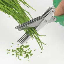 Paire de ciseaux 5 lames pour herbes aromatiques