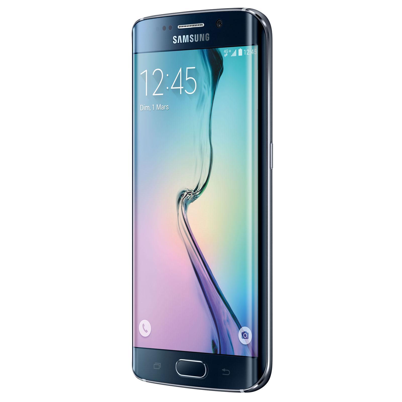 """Smartphone 5.1"""" Samsung Galaxy S6 Edge - 32 Go, Noir (via ODR de 50€)"""