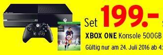 Console Microsoft Xbox One 500Go + Fifa 16