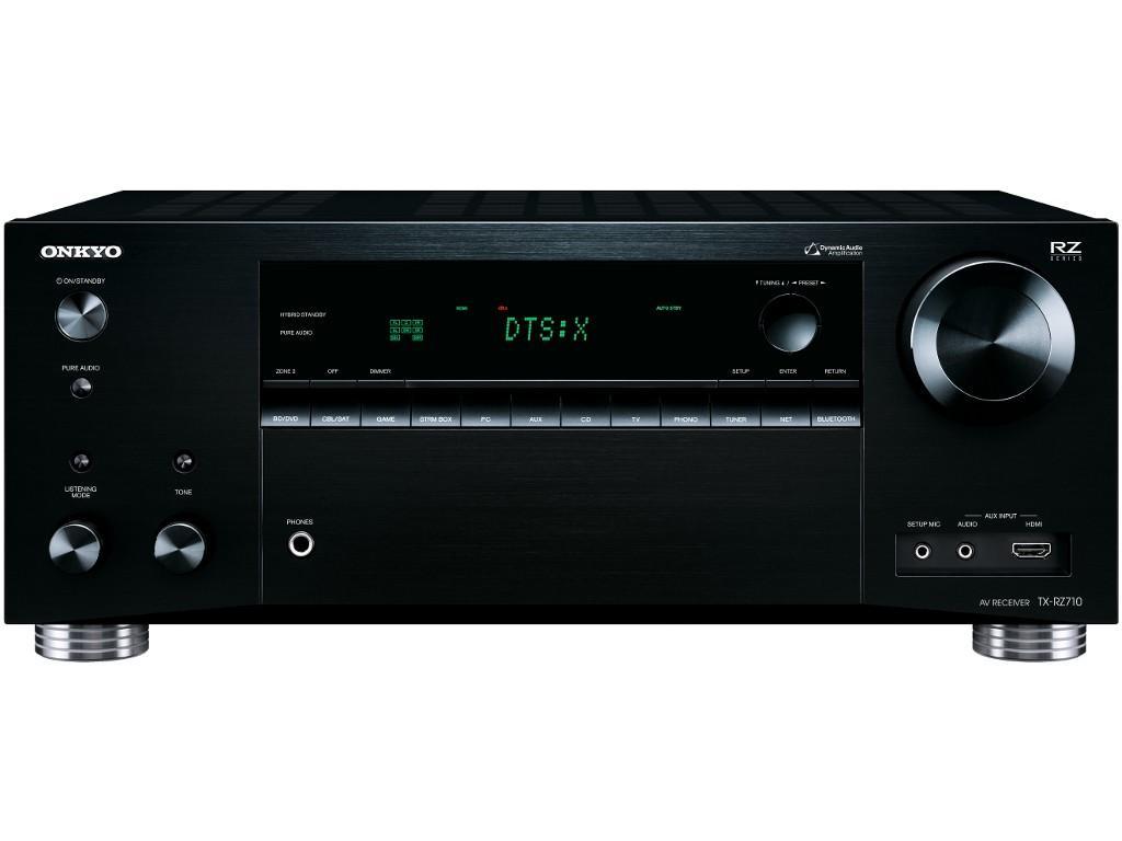 Ampli Home-Cinéma 7.2 Onkyo TX-RZ710 (THX Select2, HDCP 2.2, 4K, HDR, Dolby Atmos, DTS-X, AirPlay, Google Cast etc...)