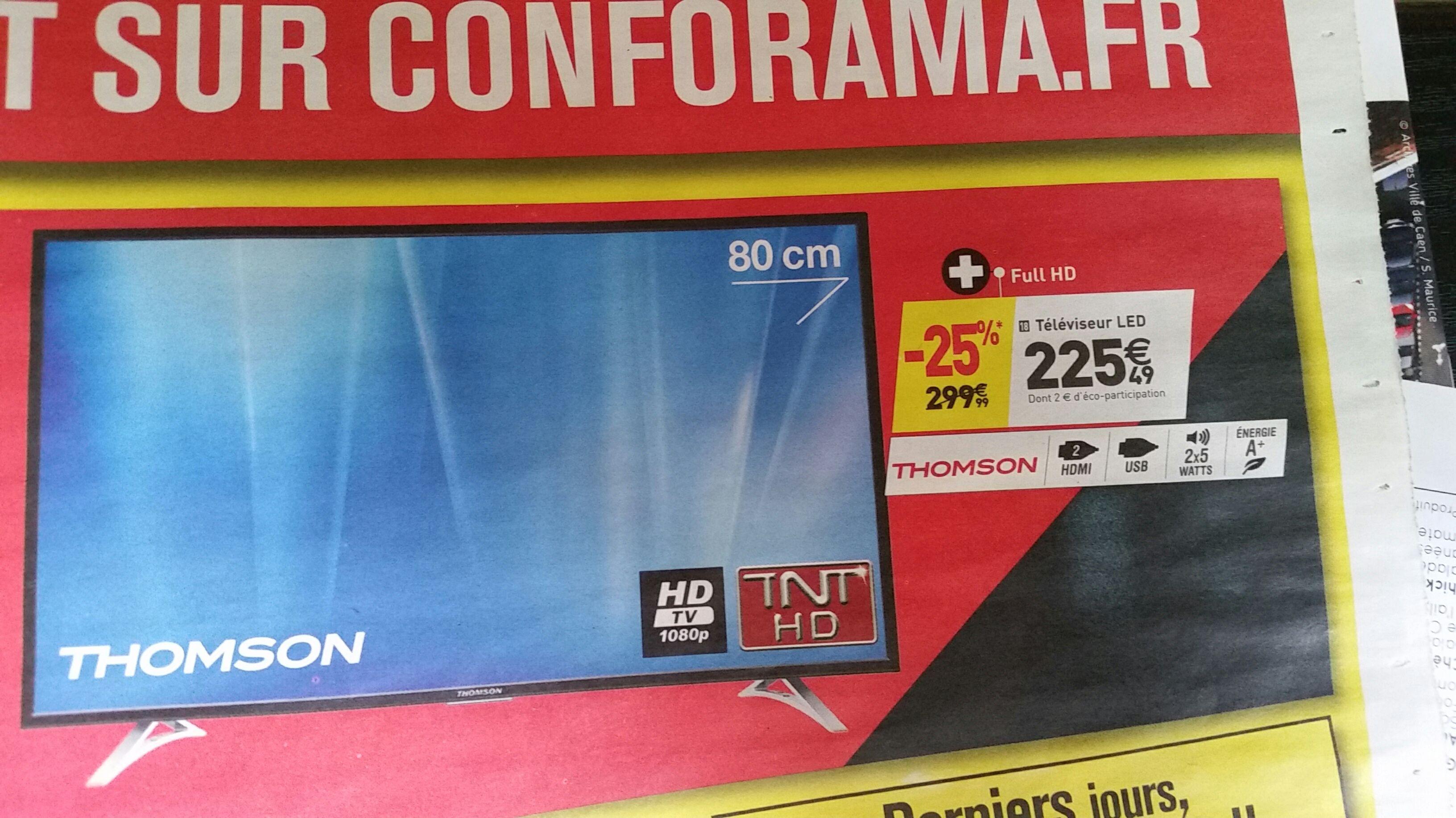 """TV 32"""" Thomson LED 32FA3103 - FullHD"""