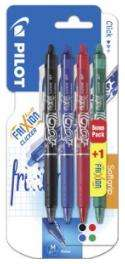 3 Lots de 4 Stylos Rollers Pilot Frixion Clicker - 12 Stylos (Via carte de fidélité + BDR + ODR)