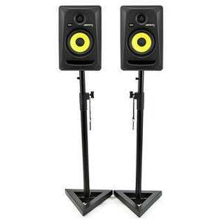 Paire d'Enceintes actives de Studio Krk Rokit RP5 G3 - Bi-amplifiées + 2 Stands