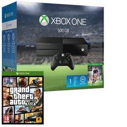 Sélection de pack Xbox One en promo - Ex : Console Xbox One 500go + GTA V + Fifa 16 + Ea Access 1 mois