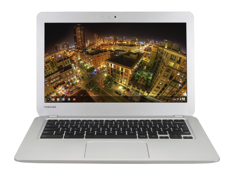 """Chromebook 13,3"""" Toshiba CB30-B-103  Gris (Intel Celeron, 2 Go de RAM, SSD 16 Go, Chrome OS)"""