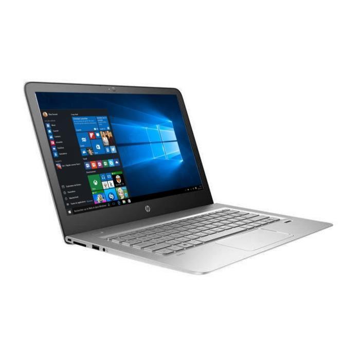 """PC Portable 13,3"""" HP Envy 13-d002nf Argent (QHD, Intel Core i5, 4 Go de RAM, 256 Go de SSD, Windows 10)"""