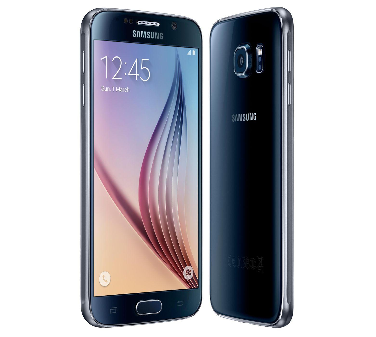 """Smartphone 5.1"""" Samsung Galaxy S6 - 32 Go, noir (via BDR)"""