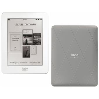 Liseuse numérique Kobo by Fnac Mini Blanc/Gris