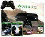 Pack console Xbox One (500 Go) + 2ème manette + Forza Horizon 2 + Forza Motorsport 6 + Halo 5: Guardians