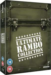Coffret Blu-Ray : The Ultimate Rambo Collection 1-4