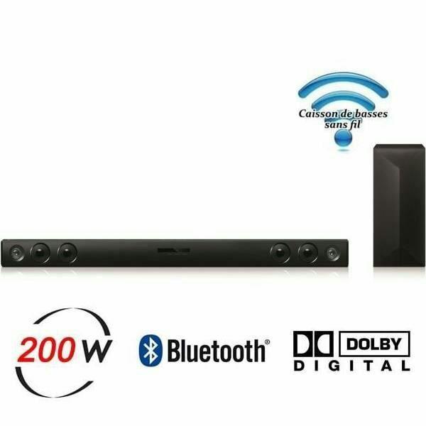 Barre de son Bluetooth LG LAS400B - 200 Watts