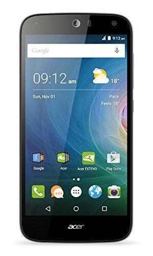 "Smartphone 5.5"" Acer Liquid Z630 Noir - HD, Quad-Core MT6735 1.3Ghz, RAM 2Go, 16Go, Android 5.1"