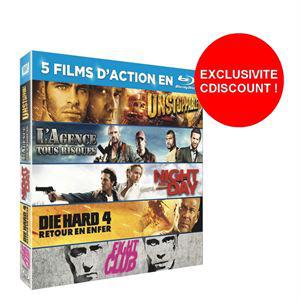 Sélection de Coffrets Blu-rays avec 5 films