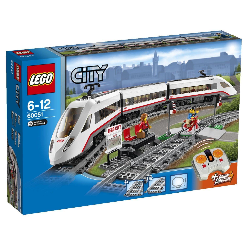 Lego City 60051 - Le Train De Passagers À Grande Vitesse