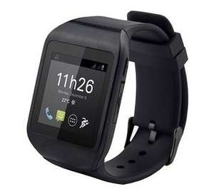 Montre connectée Bluetooth Polaroid Pwatch - Noir