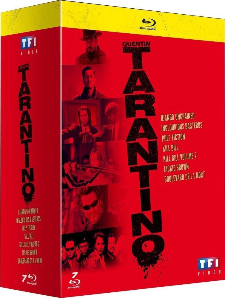 Coffret Blu-ray Quentin Tarantino (7 films)