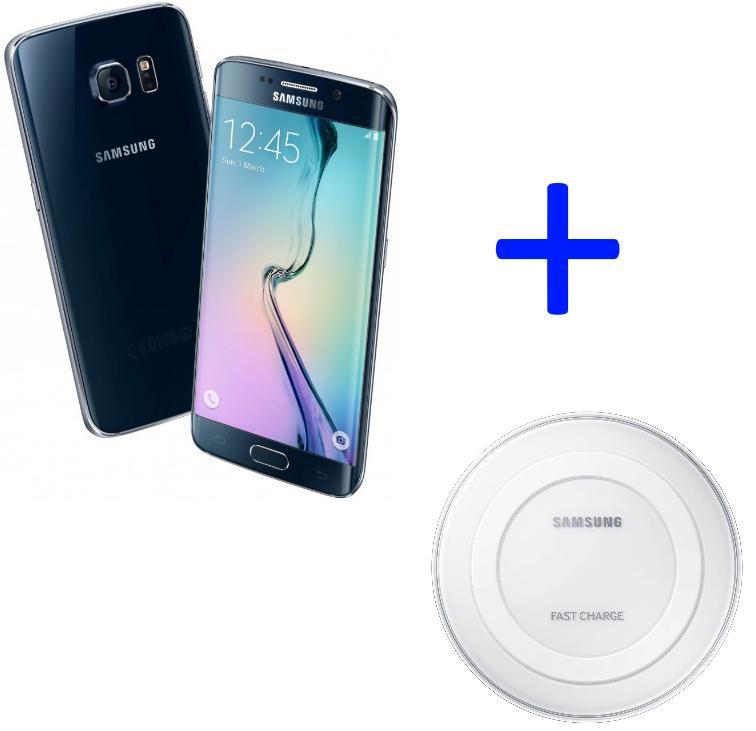"Smartphone 5.1"" Samsung Galaxy S6 Edge -  128 Go (via ODR 50€) + Chargeur rapide Samsung"