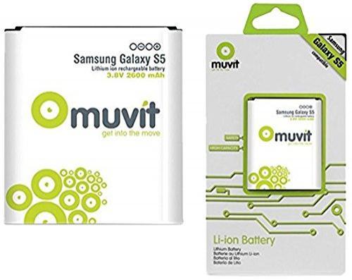 Batterie Muvit pour Samsung Galaxy S5 - 2600mAh