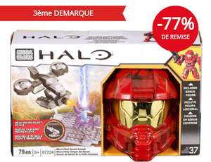 Casque Halo Spartan Megablocks 97224