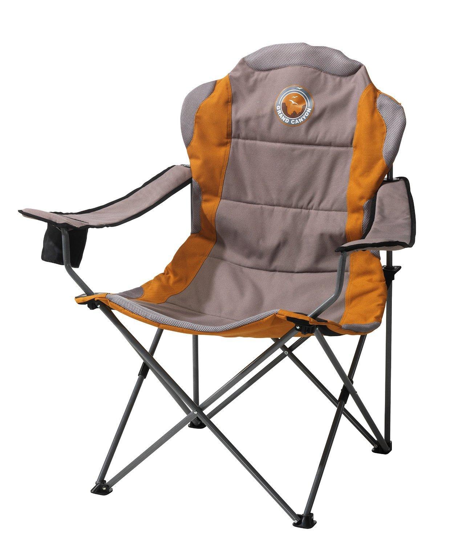 Fauteuil pliant de Camping Grand Canyon Comfort - 64 x 62 x 73cm, Gris / Sable