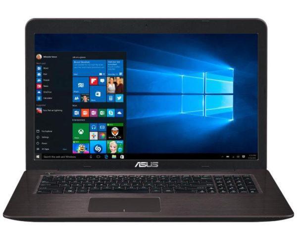"PC portable 17.3"" Full HD Asus K756UX-T4086T Marron (Intel Core i5, 4 Go de RAM, Disque dur 1 To, GTX 950M, Windows 10)"