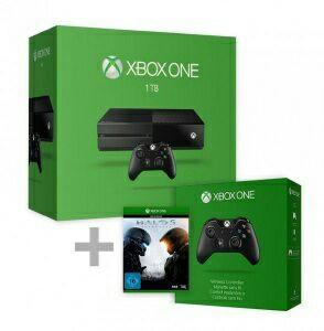 Console Xbox One (1 To) + 2ème manette + Halo 5: Guardians