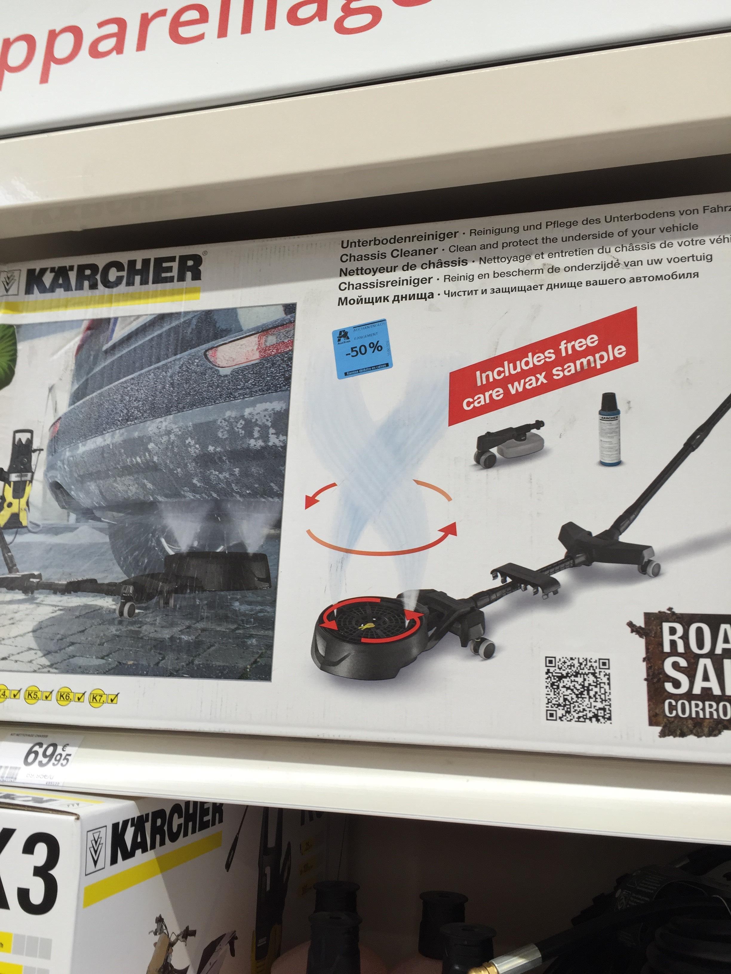 accessoire Karcher pour  lavage de châssis