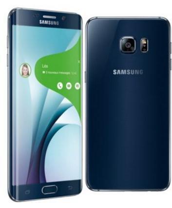 "Smartphone 5.7"" Samsung Galaxy S6 edge Plus - 32 Go Noir ou Or"