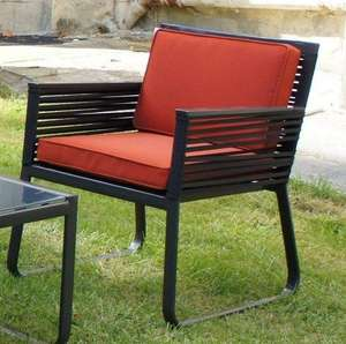 2 fauteuils de jardin Sahara (structure aluminium)