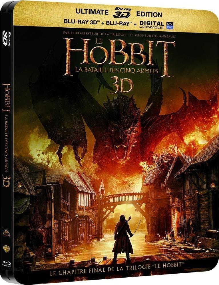 Blu-ray 3D Le Hobbit : La Bataille Des Cinq Armées
