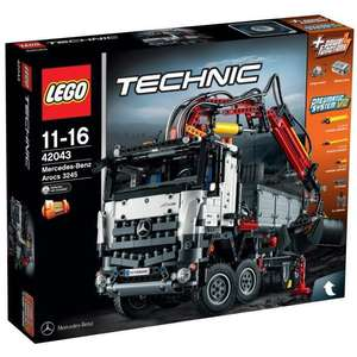 Lego Technic Mercedes-Benz Arocs n°42043