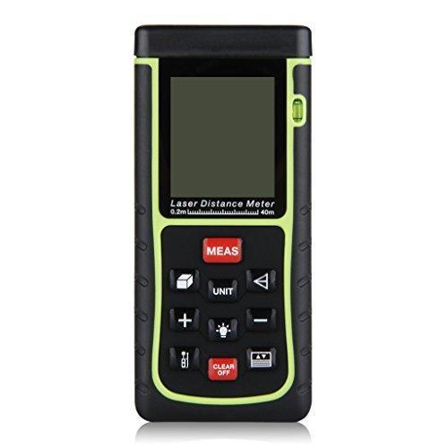 Télémètre Laser numérique Excelvan - Noir / Jaune