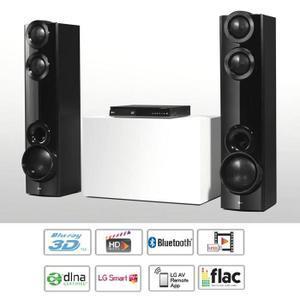 Home-cinéma 4.2 LG LHB675 - Blu-ray, 3D, Smart TV, Full HD
