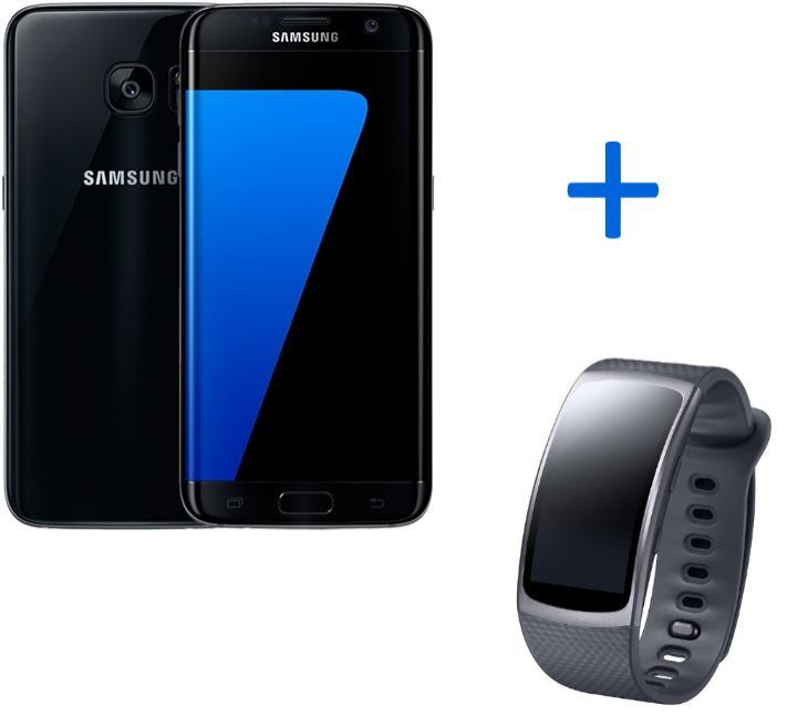 """Smartphone 5.1"""" Samsung Galaxy S7 - 32 Go (coloris au choix) + Montre connectée Samsung Gear Fit 2"""