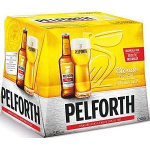 Lot de 4 packs de 12 Bières Pelforth blondes - 25cl (via Shopmium)
