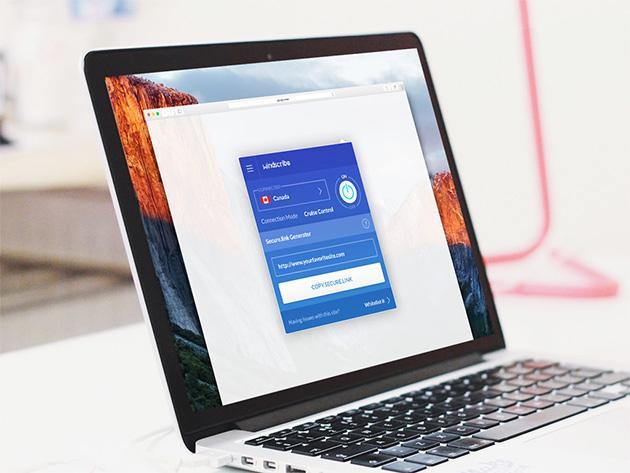 Abonnement à vie au service WindScribe VPN