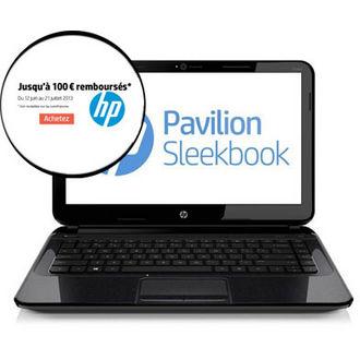 """PC Portable 15.6"""" HP Pavilion Sleekbook 15 - Core i3, 500 Go, 4 Go (Avec ODR de 50€)"""