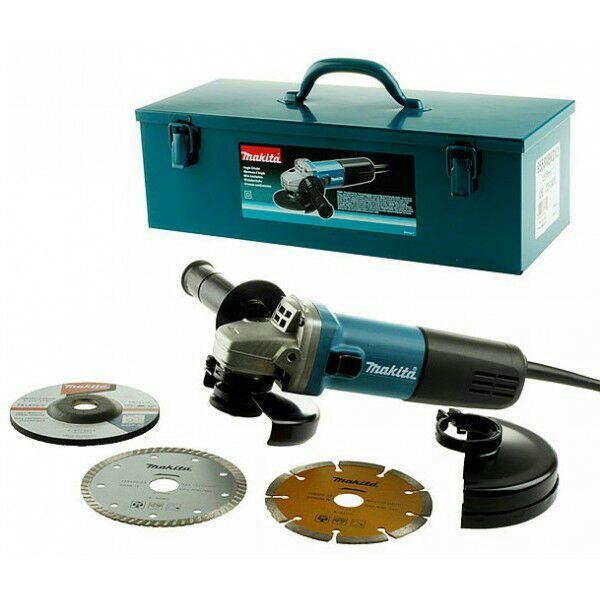 Meuleuse Makita 9558NBGKDX - 840W, diamètre 125 mm garantie 3 ans