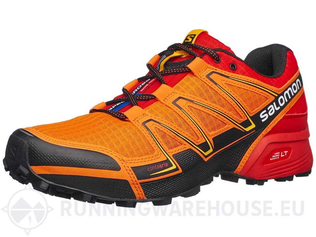 Sélection de chaussures Trail Salomon Speedcross en promotion - Ex : Vario Orange